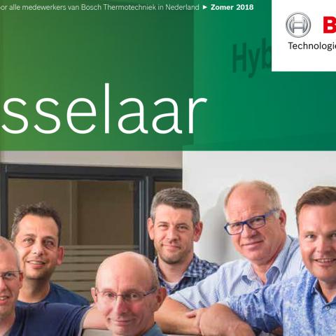 Personeelsmagazine Bosch Thermotechniek