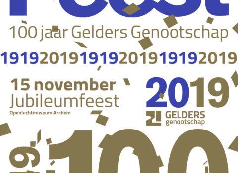 Communicatie 100 jaar Gelders Genootschap