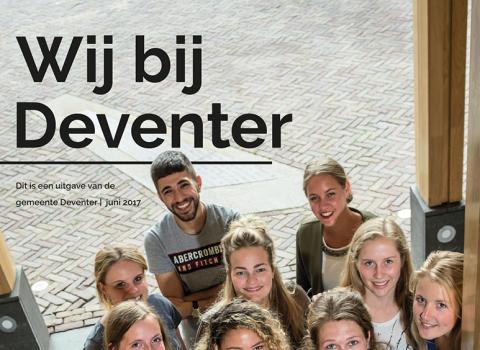 Wij bij Deventer: personeelsmagazine